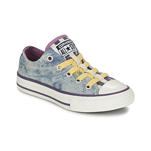 Converse All Star OX Loopholes M228;Dchen Sneaker Blau Blau