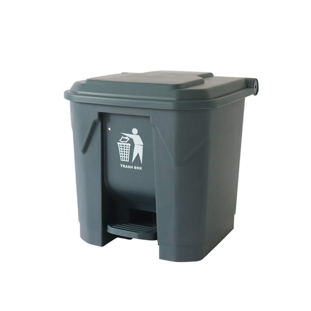 大型ペダル大型ゴミ商業屋外足台所ふた大容量クリエイティブペダルタイプ   B07RX6G3H2