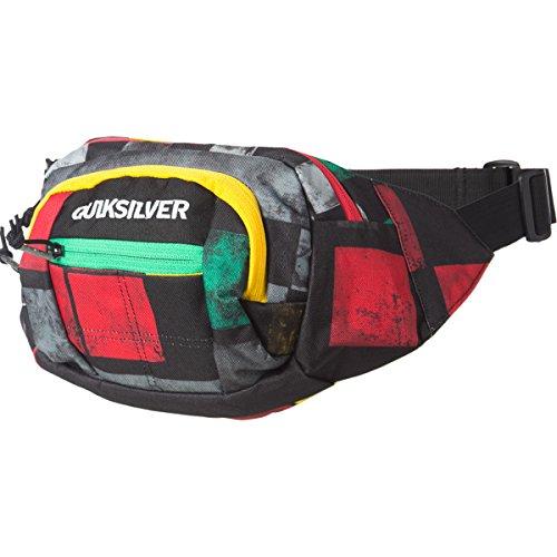 Quiksilver Traveler Waist Pack (DNA Rasta)