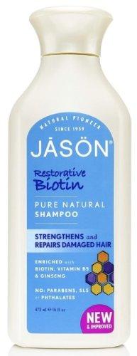 Natural Biotin Shampoo-473 ml Brand: Jason Naturals ()