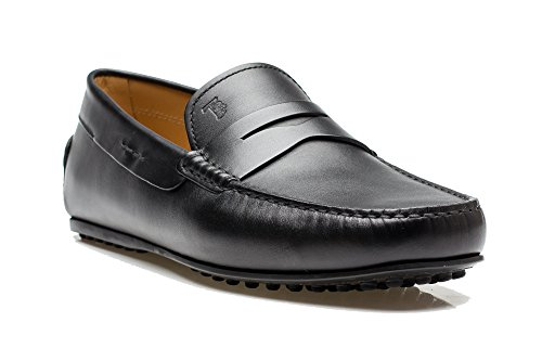 tods-mens-leather-moccasins-city-gommino-loafer-shoes-black