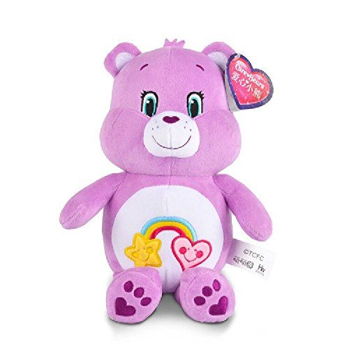 """Care Bears Authentic 4 Characters 8""""- 18"""" Plush Stuffed Soft Toy Bear Animal Great Gift for Children Cheer Bear Bedtime Bear (12"""", Best Friend Bear)"""
