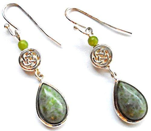 """""""Celtic"""" Pear Earrings Made..."""