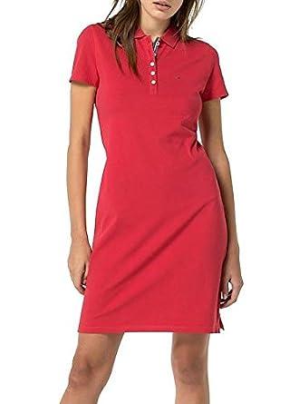 Hilfiger Robe Femme Rouge Jeans Tommy Denim MediumAmazon