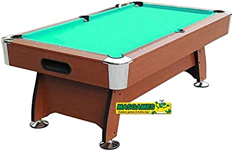 MASGAMES Billar Deluxe S 6FT Marrón MA101977: Amazon.es: Juguetes ...