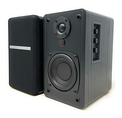 SINGING WOOD BT25 Powered Bluetooth Bookshelf Speakers- Wireless Studio Monitor