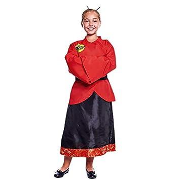 Disfraz China Dragón Niña (7-9 años) (+ Tallas) Carnaval Mundo ...