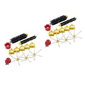Roomba - Set de 12 piezas de repuesto para iRobot Roomba 782 780 774 772 770 776 760 24-teilig: Amazon.es: Hogar