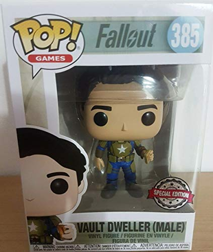Funko Fallout (Male) Pop Vault Dweller, Multicolor (33997)