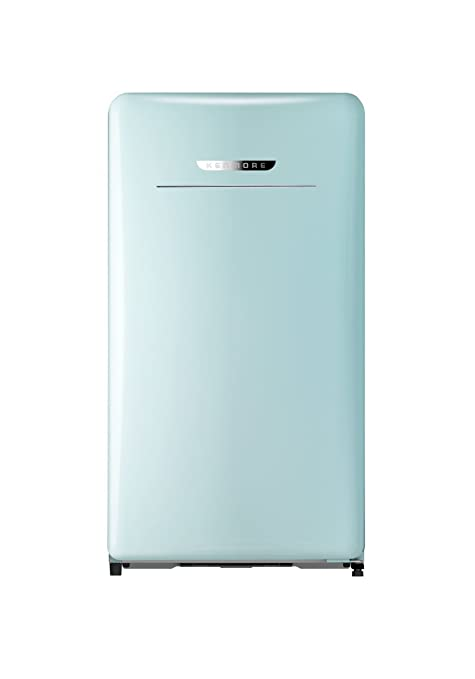 Kenmore 99098 Compact Mini Refrigerator, 4 4 cu  ft  in Mint Green