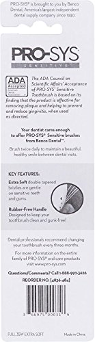 Cepillo de dientes PRO-SYS Extra Soft con cerdas DuPont para encías extra sensibles, Pack de 4 unidades (4 PACK): Amazon.es: Belleza