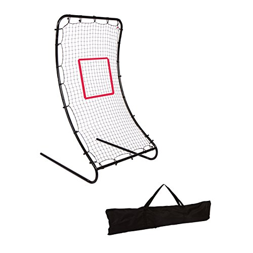 6' Infinity Pitchback Return Sports Trainer Screen with Strike Zone and Stakes by Trademark Innovations by Trademark Innovations