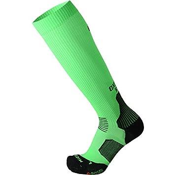 MICO Calcetines Running oxi-Jet Medium – 1275 Verde Fluo