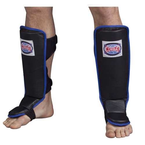 Combat Sports Hook & Loop MMA Shin Guards