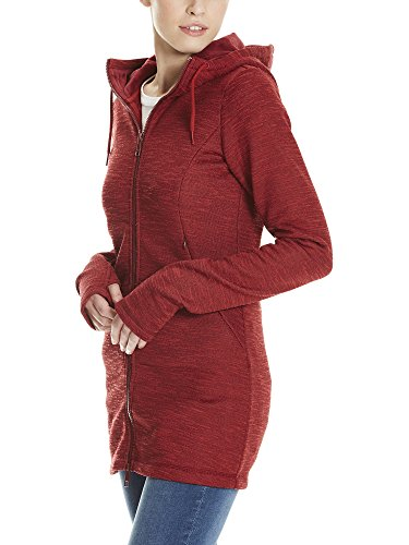 Rouge Rd11343 Manteau Jacket Bench Long Bonded Cabernet Femme Velvet vxqxUH4wF
