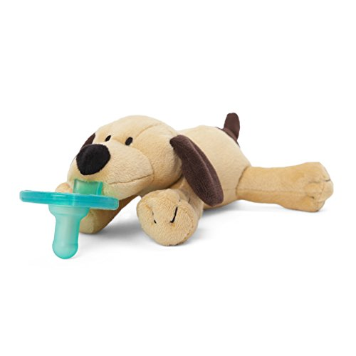 WubbaNub Brown Puppy Pacifier - Avent Soothie Pacifers