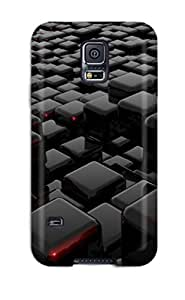 MeSusges Fashion Protective Interesting 3d Shapes Case Cover For Galaxy S5