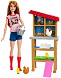 Barbie Chicken Farmer Doll & Playset, Multicolor