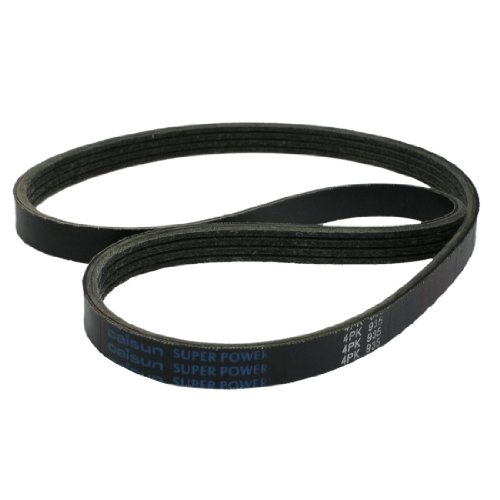 4PK935 A/C Air Conditioning Poly-V Serpentine Belt Replacement Black