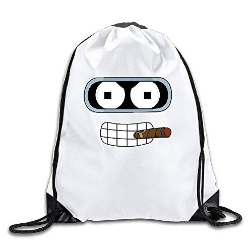 LCNANA Futurama Funny Face New Design One Size Backpack (Cartoon Character Couples)