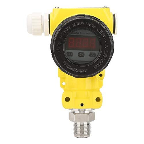 LCD Digital Pressure Sensor, 0-100 MPa Range,±0.5% FS High Accuracy Sensor Transmitter 4-20mA LCD Digital Explosion-Proof (Range0~4.0Mpa) ()