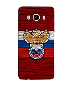 ColorKing Football Russia 17 Red shell case cover for Samsung J5 2016