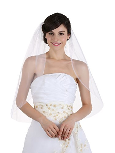 Plain Bridal Wedding Elbow Length product image