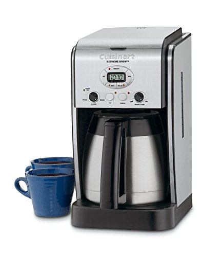 Cuisinart DCC-2750 Extreme Brew 10-Cup Thermal Programmable Coffeemaker, Silver (Coffee Maker Thermal Cup)