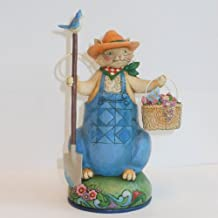 Jim Shore Heartwood Creek Spring Ahead To Summer Fun Farming Cat Figurine