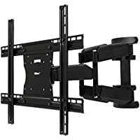 Ollieroo Full Motion Articulating TV Wall Mount for 17-55 inch TVs, Max VESA 600X400mm with Level Indicator.