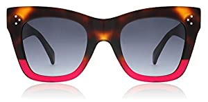 Celine CL41090/S 23A Havana / Fuchsia CL41090/S Square Sunglasses Lens Category