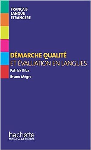 Livres gratuits Collection F - hors série - Démarche qualité et évaluation en langues pdf, epub ebook