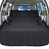 Cheap iSPECLE SUV Cargo Liner for Dogs, Non Slip Pet Car Seat Cover with Anchors for Stable Fit – Waterproof Cargo Liner Cover for SUVs and Cars Universal Fit for All Cars, Sedan, Wagon & Mini Van, Black