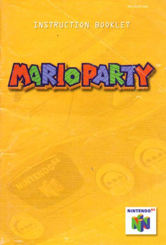 (Mario Party N64 Instruction Booklet (Nintendo 64 Manual Only) (Nintendo 64 Manual))