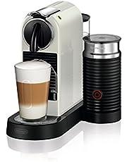 De'Longhi Nespresso EN267.WAE Citiz Koffiezetapparaat, Hogedrukpomp En Perfecte Warmteregeling, Energiebesparende Functie, Geïntegreerde Aeroccino-Melkopschuimer, Licht Grijs