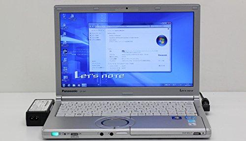 【中古】 Panasonic CF-SX1XEUYS Core i5 2.5GHz/8GB/320GB/Multi/12.1W/7   B01MSJN4MY