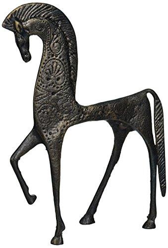 Design Toscano Greek Ironwork Spartan Horse Statue - Home Decor Sculpture Statue