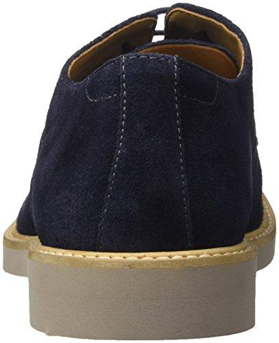 Azul de Cordones 823284 Hombre 9 para Bata Blu Derby Zapatos x01qt0wB