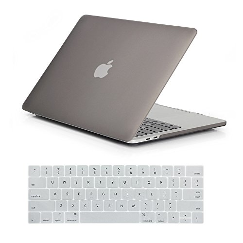 RYGOU Plastic Matte Hard Case Keyboard Cover for Newest MacBook Pro 15 Inch with Touch Bar Model:A1707 (Released in Oct 2016)