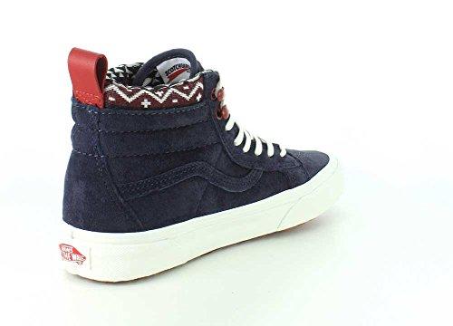 Varebiler Kvinners Sk8-hi Mte Parisisk Natt / Blanc De Blanc Sneaker - 4