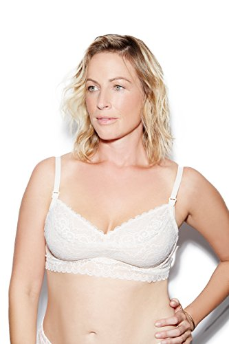 The Dairy Fairy Ayla: Underwire Nursing and Hands-Free Pumping Bra,Large / (Hidden Wire Full Support Bra)