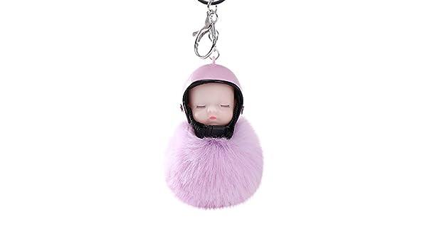 LEEDY - Llavero con Colgante de Casco de bebé para Llevar en ...