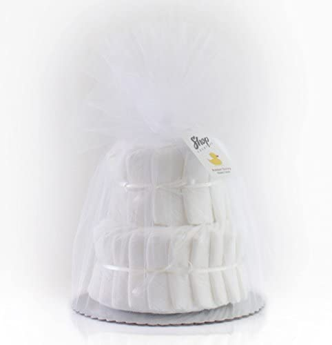 Amazon.com: Decorar it yourself 2 Tier Liso, Pañal cake-32 ...