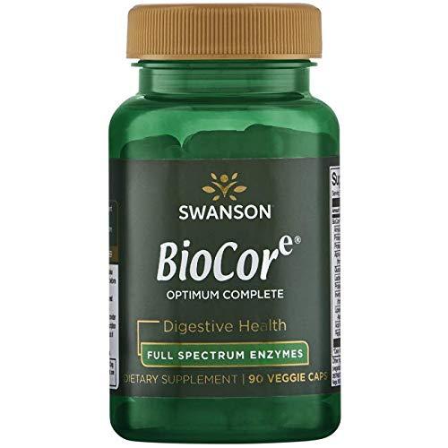 Swanson Biocore Optimum Complete Ultimate Full Spectrum Enzymes 90 Veg Capsules