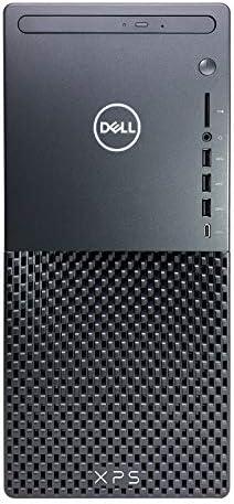 Dell XPS 8940 Tower Desktop Computer – 10th Gen Intel Core i7-10700 8-Core up to 4.80 GHz CPU, 32GB DDR4 RAM, 512GB SSD + 4TB Hard Drive, Intel UHD Graphics 630, DVD Burner, Windows 10 Pro, Black