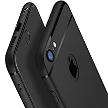 iphone 6s Case,OTOFLY[ Perfect Slim Fit ] Ultra Thin Protection Series Case for iphone 6/6s TPU case (Black)