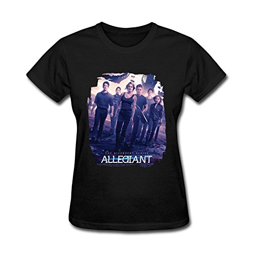 nera Poster Alma Series The Divergent Xxxxl Harriet Femme's Allegiant Maglietta w6xY7Szq