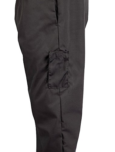 KNG Black Cargo Style Chef Pant, 4XL by KNG (Image #5)