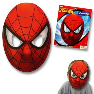 Spider Man Costume Party City (Spiderman Party Masks)