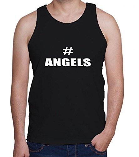 # ANGELS Men's Tank Top Tee Shirt Top